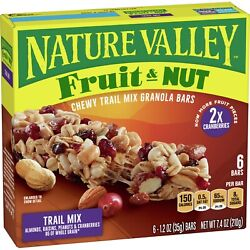 Nature Valley Granola Bars Chewy Trail Mix Fruit amp; Nut 6 ct $11.99