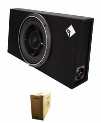 Rockford Fosgate 12quot; 800 Watts 1 Ohm Shallow Loaded Subwoofer Enclosure P3S 1X12 $269.99