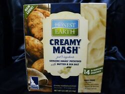 Honest Earth Creamy Instant Mashed Potatoes Dry Food Storage 5.6 lbs 14 bags $44.97
