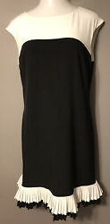 STUNNING BLACK AND WHITE STUDIO ONE DRESS SIZE 18 $18.99
