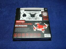 Tech Toyz Aerodrone Microquad 2.4Ghz 6 Axis RC Micro Quadcopter Drone Black NEW $19.99