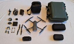 DJI Mavic Pro Quadcopter with Controller Accessories and Three Cases $580.00