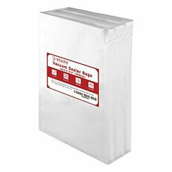 100 Count Vacuum Sealer Bag Commercial for Food Vac Storage or Sous Vide Cooking