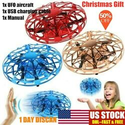 UFO Flying Ball Mini Drone Rc Toys Hand Controlled Helicopter Toy Fly Drone USA $14.99