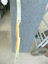 VINTAGE BEAR BEARCAT GLASS POWDERED RECURVE BOW KM24519 AMO 60 20 X # $95.00