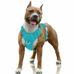 No Pull Dog Harness Large Step in Reflective Dog Harness with Front Clip and Ea $39.59