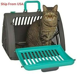 Outdoor Pet Cage Cat Travel Carrier Breathable Large Space Carrier $38.99