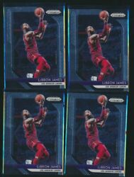 SR 2018 19 PRIZM 4 CT LOT LEBRON JAMES LAKERS $34.99