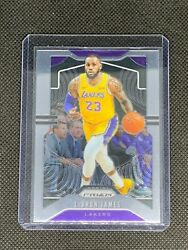 2019 2020 Panini Prizm Lebron James #129 Base Los Angeles Lakers $20.00
