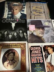 6 Qty Lot Willie Nelson Red Headed Stranger 1975 Vinyl Columbia Records KC33482 $24.99