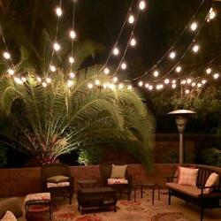 96 Feet LED Outdoor Waterproof Commercial String Light Bulbs