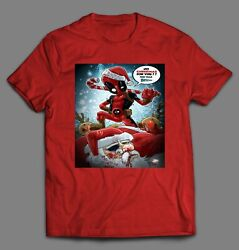 DEADPOOL NO CHRISTMAS FOR YOU BITCH HOLIDAY SHIRT MANY OPTIONS FAST SHIPPING $24.99