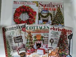 HOLIDAY STYLE Southern Home Country Home Cottages BHamp;G Christmas Magazine $25.99
