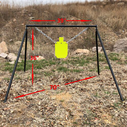 Highwild AR500 Steel Shooting Target Stand System StandChain Kitamp;7quot;x 12quot; Torso $99.00