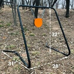 Highwild Shooting Target Stand with Chain Mounting Kit 6quot; AR500 Steel Gong $54.00
