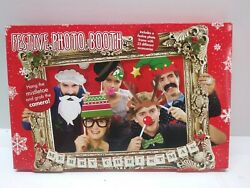 Photo Booth Props with Card Frame Festive Party Fun $5.99