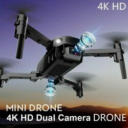 New minidrone with HD 4k dual cameras1080p Wifi foldable drones camera hight $49.99