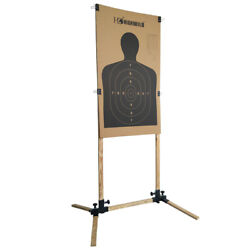 Adjustable Target Stand for Paper Silhouette Shooting Targets USPSA IDPA 1 Pack $32.98