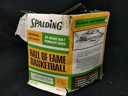 Vintage Spalding Official Size Basketball Hall of Fame Ball SEE PICS $40.00