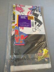 Vintage 1995 Party Express Mighty Morphin Power Rangers Power Party Table Cover $24.00