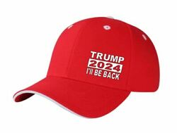 Trump 2024 I#x27;ll Be Back President United States Red Hat Cap $11.50