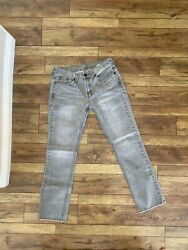 Denizen Levi Jeans For Men. EUC Gray. Straight Leg. Size 34x32. J 13 $15.00