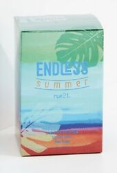 RUE 21 ENDLESS SUMMER FOR HIM 2017 LIMITED EDITION COLOGNE SPRAY 1.7 OZ. NEW. $49.50
