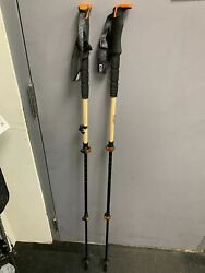 New Switchback Bamboo adjustable Ski Poles Size: 110 135 $55.99