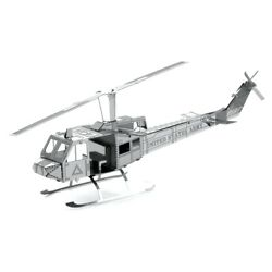 Fascinations Metal Earth Huey UH 1 Helicopter Laser Cut 3D Metal Model Kit $6.95