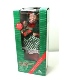 Vtg 1994 Holiday Creations 16quot; Musical Animated Mrs.Claus Figure Christmas Decor $29.00