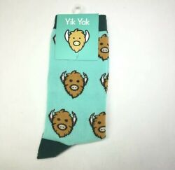 YIK YAK Novelty High Socks Unisex Spotted New $5.00