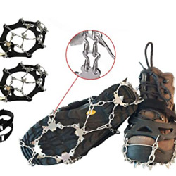 Limm Crampons Ice Traction Cleats Snow Ice Shoe Grips on Bottom of Shoes $25.25