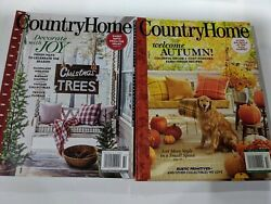 Country Home AUTUMN Fall amp; CHRISTMAS Winter 2020 Magazines $15.49