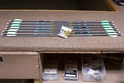 new gold tip kinetic kaos 300 spine arrows with 4 fletch 1 doz $139.99