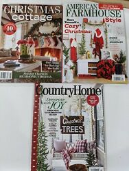 The Cottage Journal Christmas Cottage American Farmhouse Style Country Home $18.99