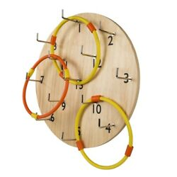 Hookey Ring Toss Game Safer Than Darts Funny Outdoor Games Toy for Family $38.49