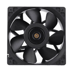 6000RPM Cooling Fan Replacement 4 pin Connector For Antminer Bitmain S7 S9 Black $15.02