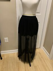 """womens long lace dress """"Divided by H amp; M"""" size Small $5.00"""