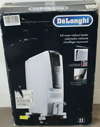 DeLonghi TRD40615E Full Room Radiant Heater with Digital Controls $80.00