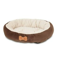 Petmate Pet Small Dog Bed 20 inch by 16 inch Chocolate Brown or Small Cat Bed $23.98