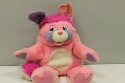Vintage 1985 American Greetings Mattel Pink Purple Party Popple 15quot; Plush Doll $58.00