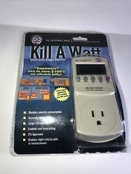 P3 International P4400 Kill A Watt Electricity Usage Monitor New Factory Sealed $30.00
