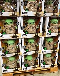 Star Wars The Mandalorian The Child Baby Yoda 11#x27;#x27; Plush w Accessories NEW $54.97