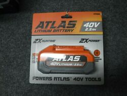 *NEW* ATLAS 40v 2.5 Ah Lithium Battery 57008 $48.95
