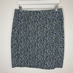 J Jill Wearever Collection Smooth Fit Pencil Skirt Size M Petite $14.99