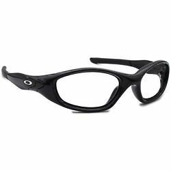 Oakley Men#x27;s Sunglasses Frame Only 04 515 Minute 2.0 Glossy Black Wrap USA 56 mm $99.99