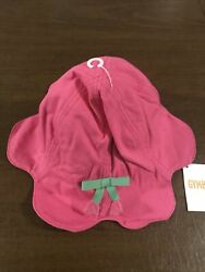 NWT GYMBOREE Toddler Girls Pink Tulip 🌷 Sun Beach Hat 2T 3T $14.99