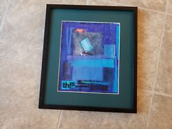 Unnamed Canvas Signed By Robert Lamm $270.00