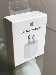 ORIGINAL APPLE OEM USB Wall Charger Power Adapter Plug for iPhone 6 7 8 X $4.95