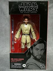 Star Wars Black Series NEW * Obi Wan Kenobi Jedi AOTC * #111 Action Figure $26.95